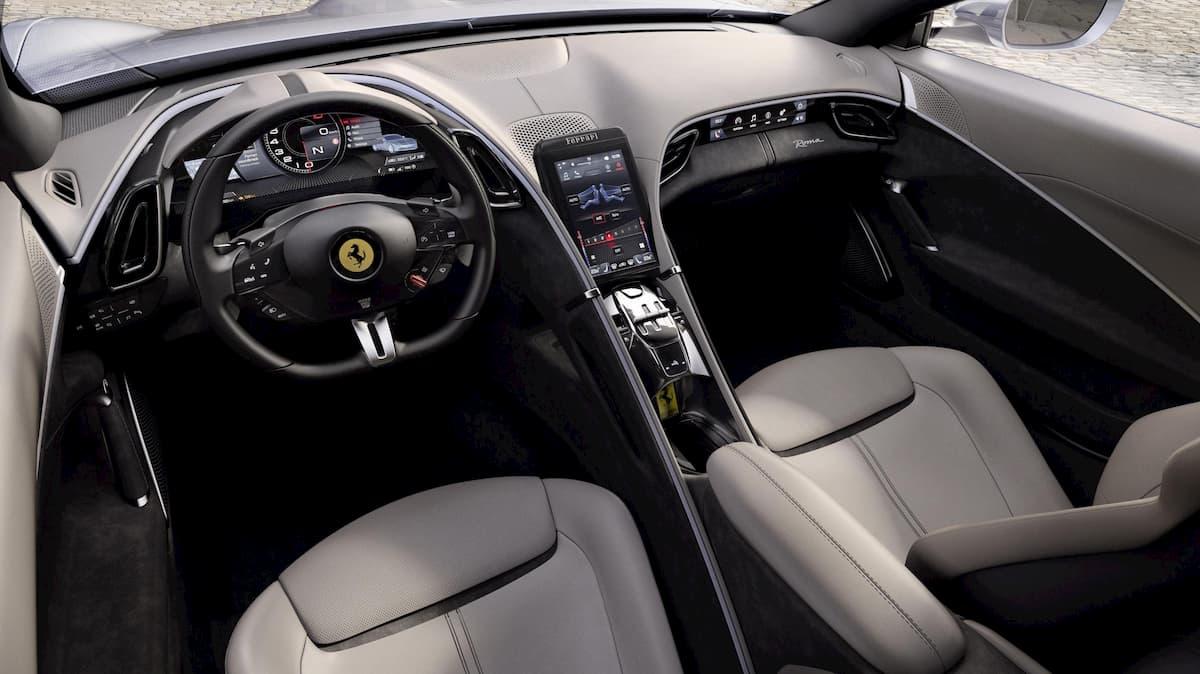 Ferrari Roma, l'ultima nata del Cavallino monta un V8 turbo da 620 cv 01