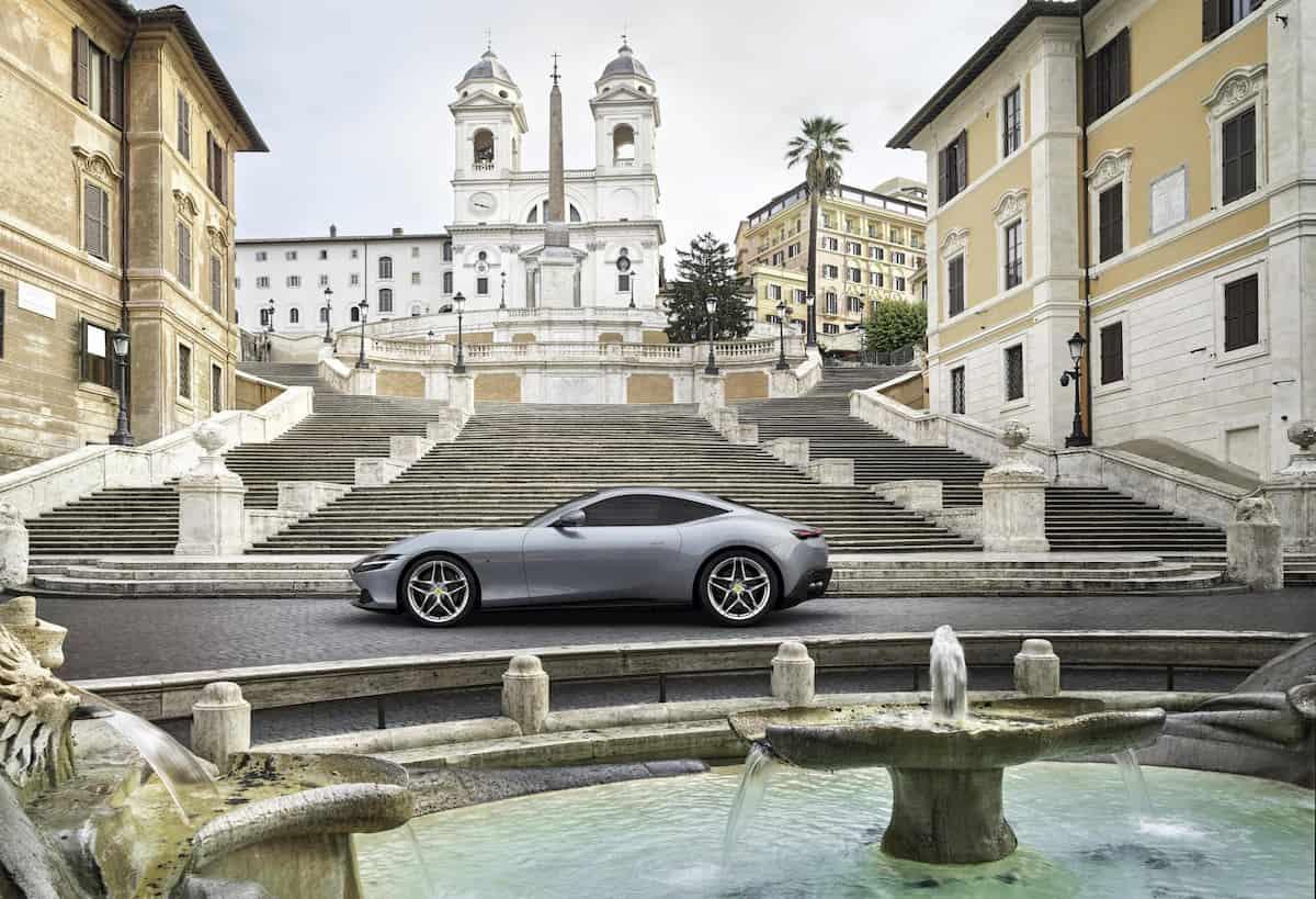 Ferrari Roma, l'ultima nata del Cavallino monta un V8 turbo da 620 cv 03
