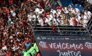 Flamengo, scontri tifosi polizia a Rio dopo trionfo Libertadores