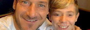 Francesco Totti festeggia il compleanno del figlio Cristian su Instagram Foto