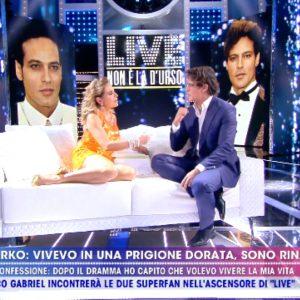 Gabriel Garko gay? Scompare fedina e...bacio con Barbara D'Urso a Live