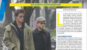 Gabriel Garko e Gabriele Rossi, solo amici o c'è qualcosa di più? Paparazzati insieme dal settimanale Voi