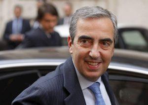 """Rai, Maurizio Gasparri: """"Continua l'inesorabile agonia di Fazio, precipitato al 7% di ascolti""""."""