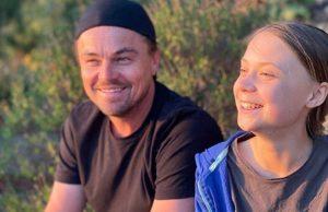 """Greta Thunberg e Leonardo DiCaprio: """"Insieme per il clima"""" FOTO"""