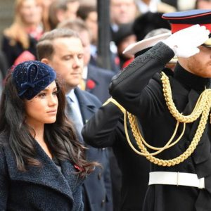 Harry, Meghan Markle per la prima volta in pubblico con William e Kate Middleton
