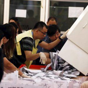 Hong Kong elezioni, affluenza record al 71,2%. Verso trionfo democratici