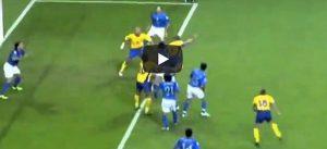 Gianni Caliano come Ibrahimovic, gol colpo scorpione video YouTube