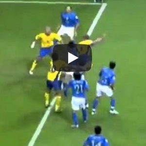 Gianni Caliano come Ibrahimovic, gol colpo scorpione video YouTube
