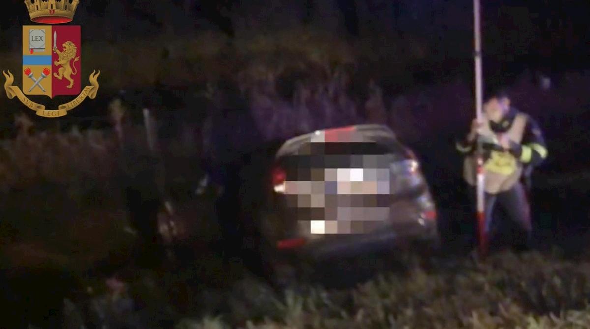 incidente A13 ford Fiesta