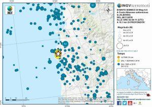 """Terremoto Albania, Ingv: """"Possibili altre scosse piuttosto forti"""""""