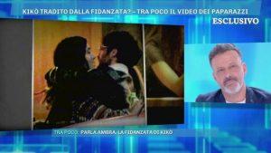 """Domenica Live, Kikò Nalli: """"Il bacio tra Ambra e Gaetano? E' una trappola"""". E litiga con la D'Urso"""