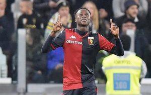 Genoa Kouamé infortunio rottura del crociato in Nazionale