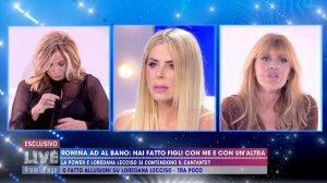 """Live Non è la D'Urso, Loredana Lecciso: """"Rispetto Romina, non ho nulla contro di lei"""""""