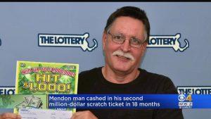 Vince 1 milione di dollari alla lotteria: aveva già vinto la stessa cifra un anno fa