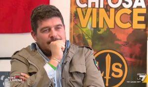 """Luca Castellini, capo ultras Verona e coordinatore Forza Nuova. Quello che """"Hitler è goliardia"""""""