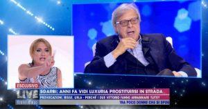 Barbara D'Urso si scusa con Vladimir Luxuria. Ma lei non la prende bene