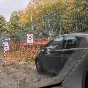 Maltempo Roma: alberi caduti, strade allagate e Tevere sorvegliato