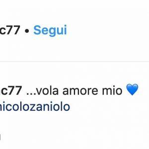 Zaniolo gol Nazionale mamma Francesca Costa festeggia su Instagram FOTO