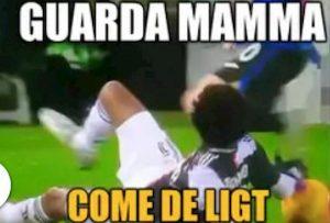 Juventus, Cuadrado De Ligt Guarda mamma, guarda la mano...