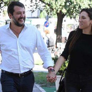 Matteo Salvini papà per la terza volta? Pancino sospetto per Francesca Verdini