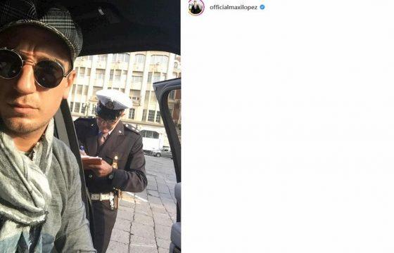 maxi lopez multa instagram