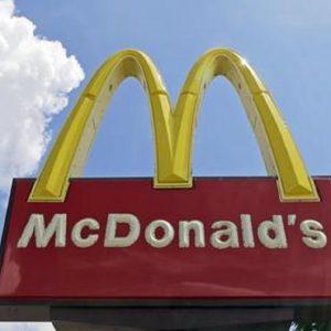 Il logo di un McDonald'S