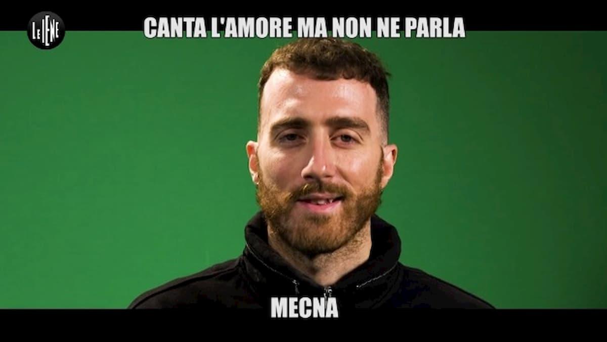 """Le Iene, Mecna: """"Mi piace farlo sulla lavatrice. Sanremo? Non..."""