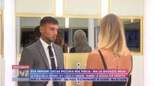 Mercedesz ed Eva Henger: il confronto su Lucas Peracchi