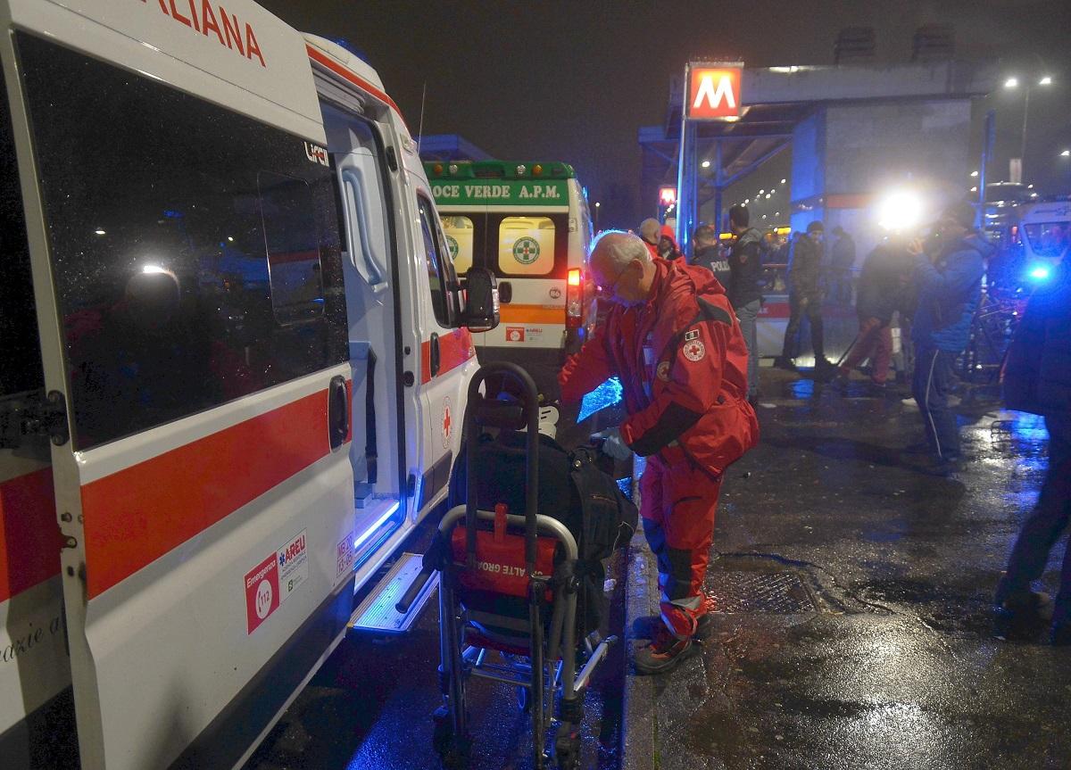 metro ambulanza passeggeri