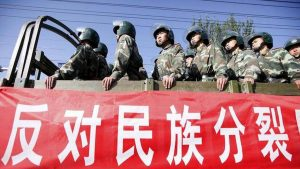 militari cinesi ansa