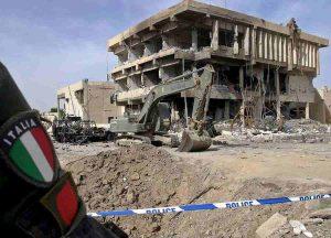 Iraq: attentato a militari italiani a due giorni prima dall'anniversario di Nassiriya-