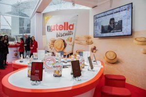 Nutella biscuits in vendita nei supermercati