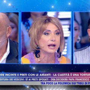 Paolo Brosio contro Vladimiri Luxuria e Barbara a Live Non è la D'Urso