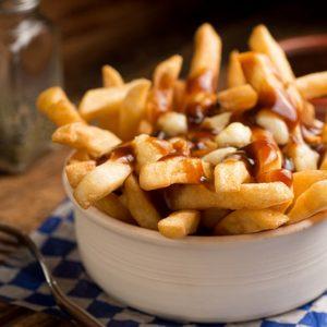 Un piatto di patatine fritte, Ansa