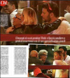 Federica Pellegrini Matteo Giunta foto CHI cena romantica