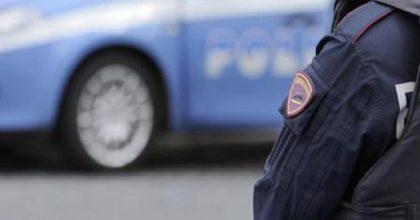 Una volante della polizia, Ansa
