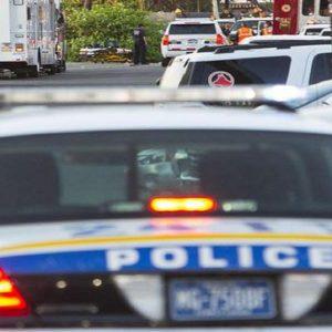 Una volante della polizia americana