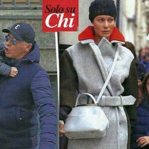 Eros Ramazzotti e Marica Pellegrinelli insieme per i figli: le FOTO su Chi