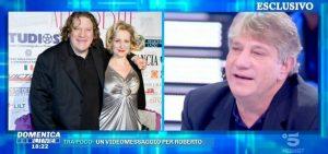 """Domenica Live, Roberto Brunetti: """"Quando Monica Scattini è morta..."""""""