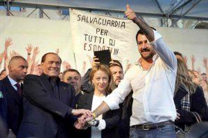 Sondaggio Index PiazzaPulita: Salvini-Meloni-Berlusconi battono Di Maio-Zingaretti-Renzi 48,4% a 44,3%