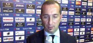 Sampdoria Atalanta Marino Fallo Ferrari Barrow era espulsione