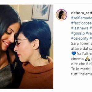 """Sara Tommasi, fidanzata con un attore famoso? La manager: """"E' una star"""""""
