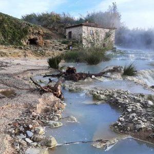 Le cascatelle di Saturnia, Ansa