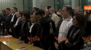 Stefano Cucchi, la lettura della sentenza: condannati a 12 anni due carabinieri VIDEO