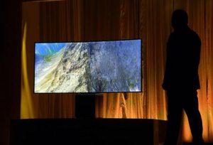 Una smart Tv, foto Ansa