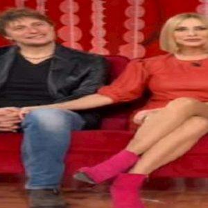 Stefania Orlando e il marito Simone Gianlorenzi