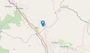 Terremoti Marsica, sciame sismico tra Balsorano e Pescosolido