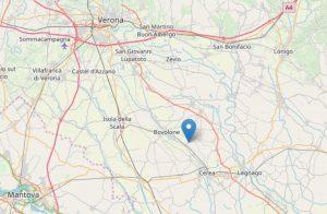 Terremoto Verona, 3 scosse tra Bovolone e Cerea