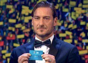 """Totti """"aiuta"""" l'Italia, Mancini: """"Euro 2020? Giochiamo per vincere"""""""