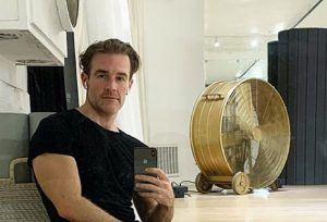 James Van Der Beek, Instagram